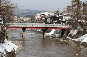 The river in Takayama