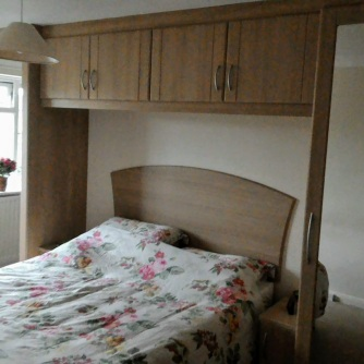 We're pleased with our new fitted bedroom